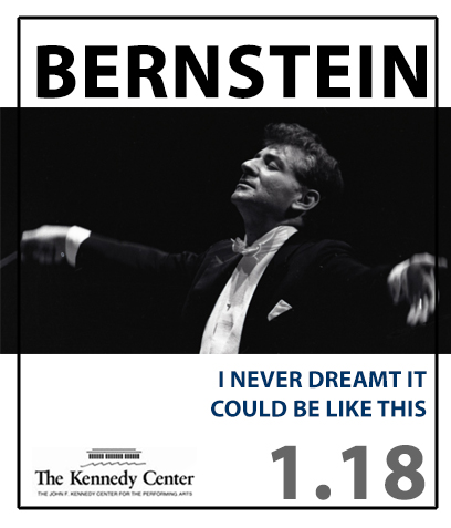 The World Premiere of the Kennedy Center Bernstein at 100 commission.