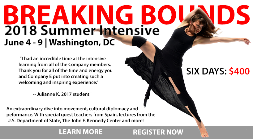 The Company | E Professional Summer Dance Intensive - Breaking Bounds