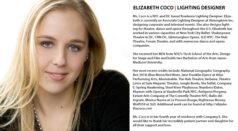 Elizabeth Coco | Lighting Designer