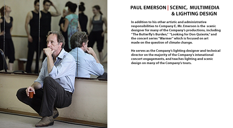 Paul Gordon Emerson | Set and Media Designer